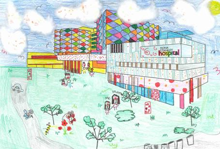 Winning colouring in competition entry of FSH