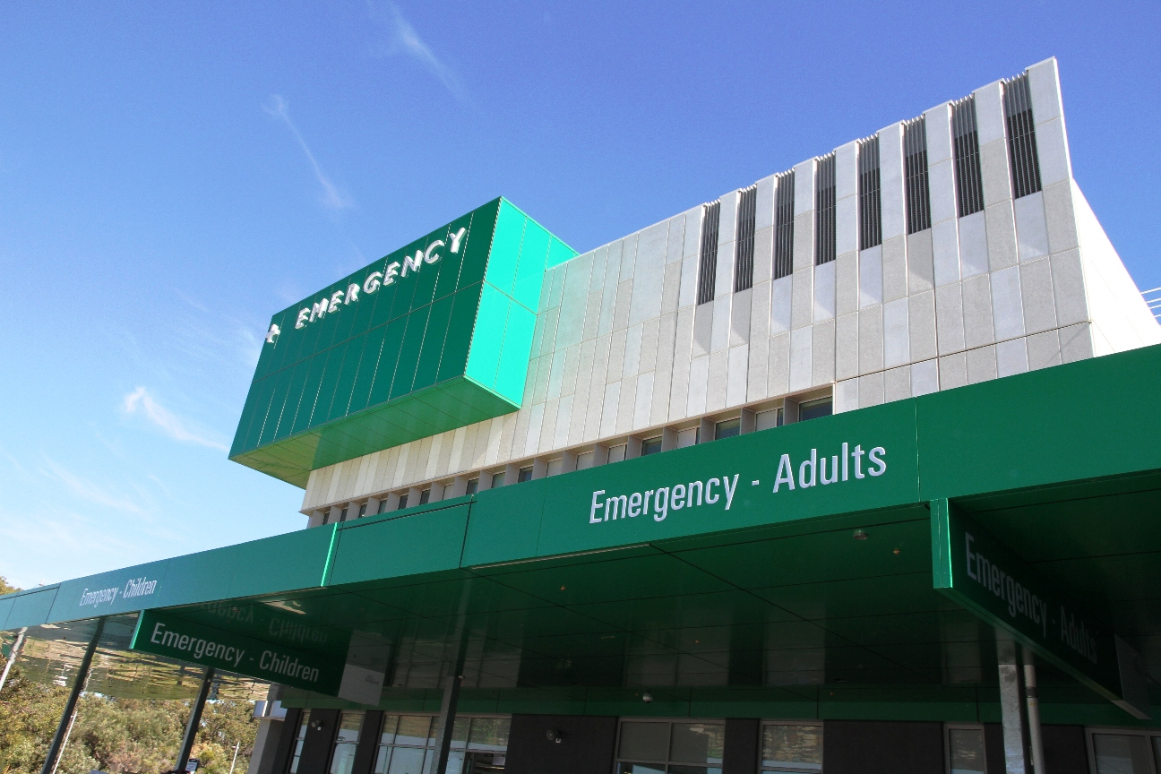 External view of the FSH Emergency Department