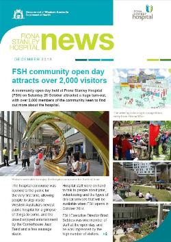 Fiona Stanley Hospital newsletter December 2013