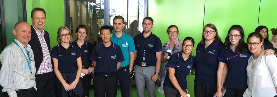 pharmacy automation staff members